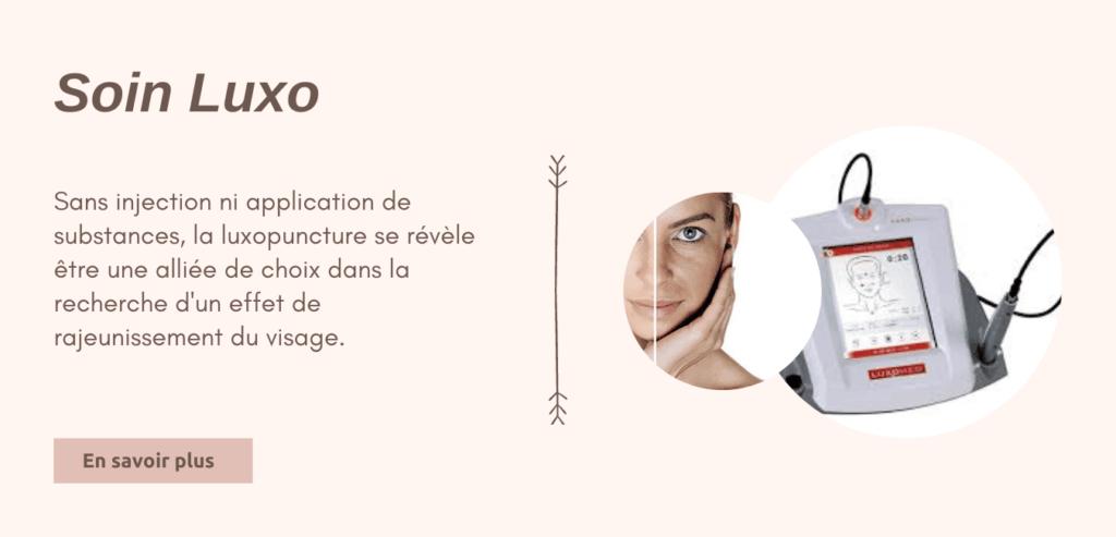 Soin du visage luxopuncture - Matéis O'bien-être