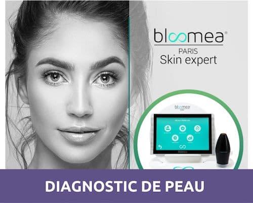 Diagnostic de peau visage - Matéis O'bien-être